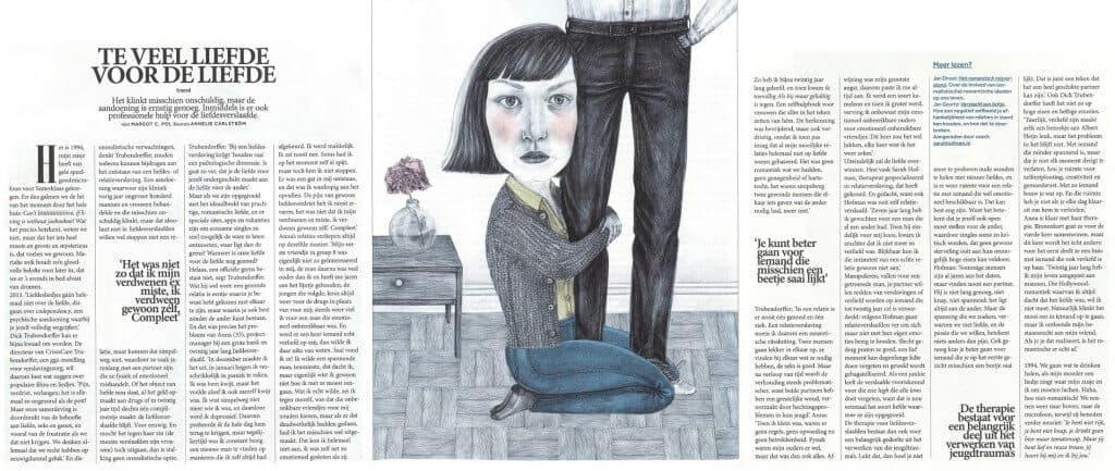 Volkskrant Magazine liefdesverslaving