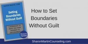 grenzen stellen zonder schuldgevoel