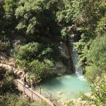 brug bij waterval